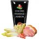 sauce aux chicons fromage et jambon surgelée