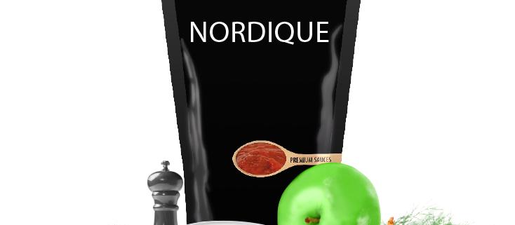 sauce nordique surgelée