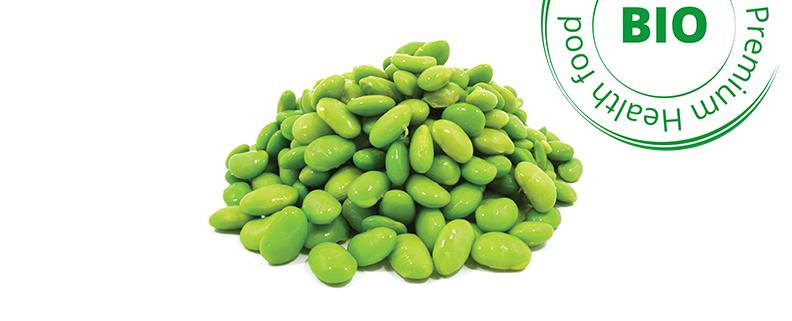 fèves soja bio surgelées