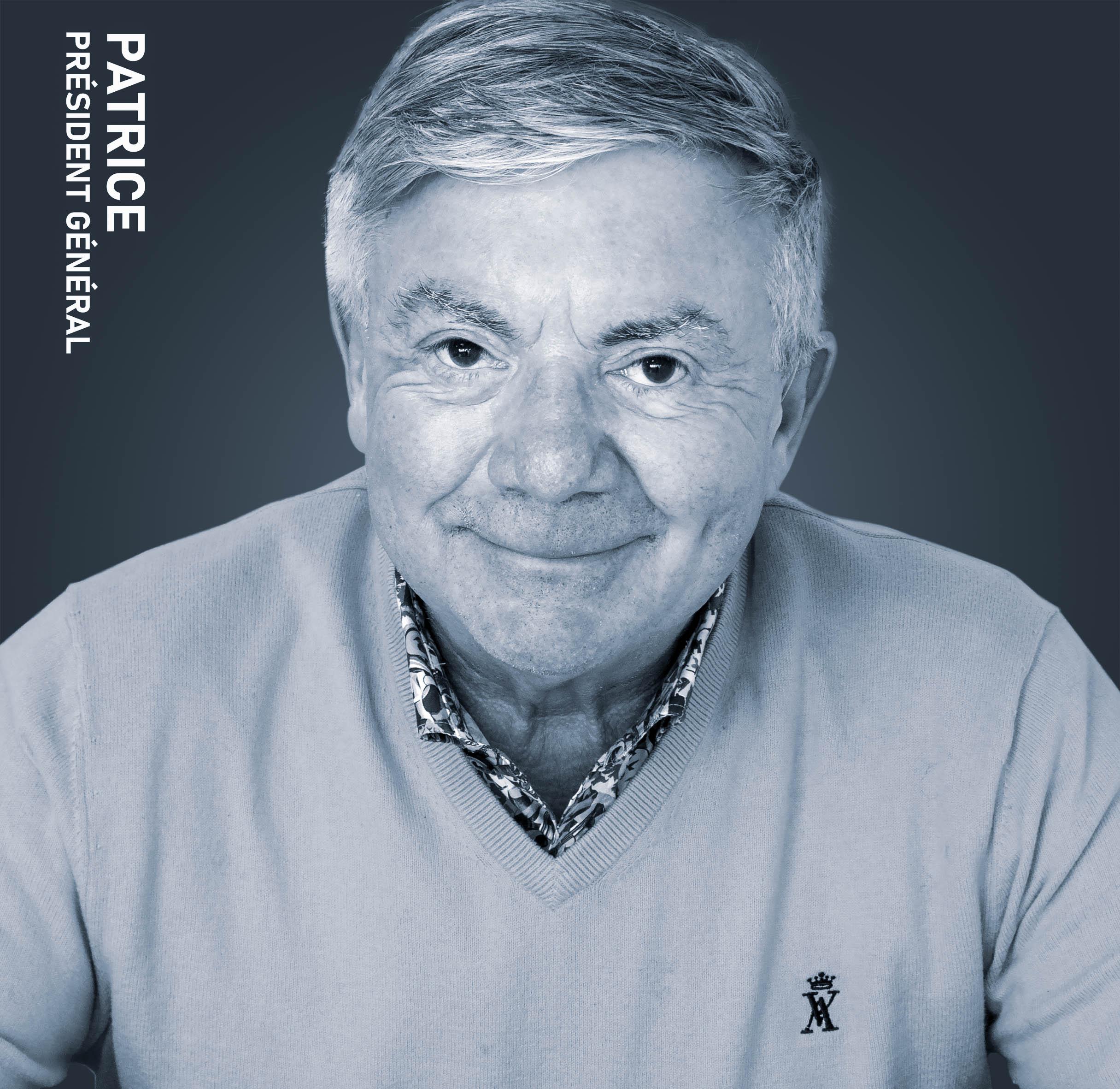 Patrice, Président Patrigel