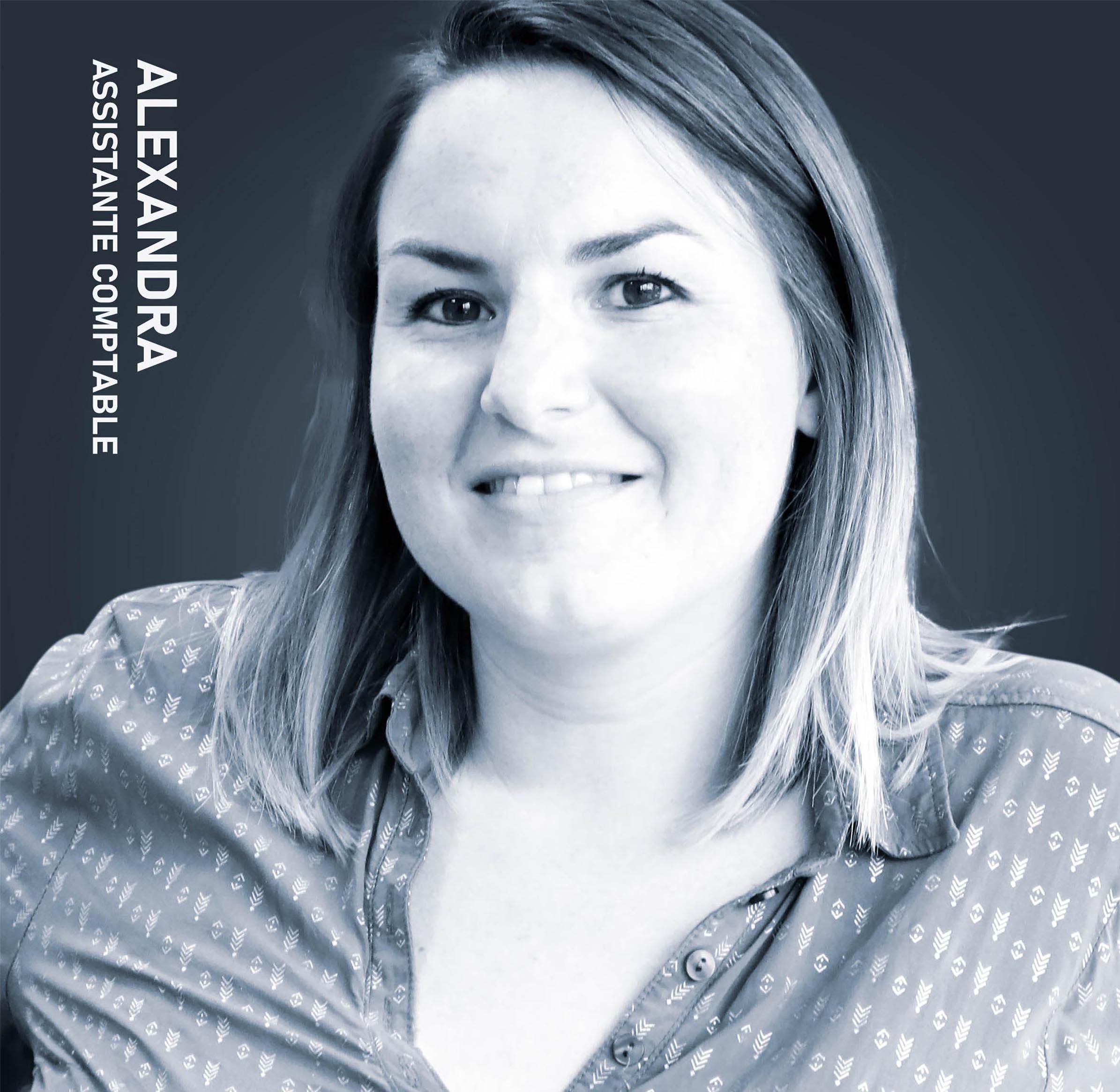Alexandra, Assistante comptable