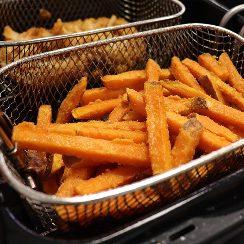 frites de patate douce surgelées