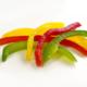 poivrons tricolores lamelles